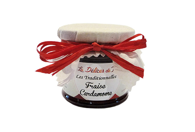 Confiture Fraise cardamome